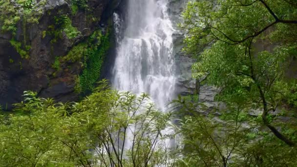 Beautiful waterfall in the national park forest at Khlong Lan Waterfall, Kamphaeng Phet Thailand