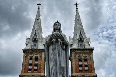 Saigon Notre-Dame Basilica, in Ho Chi Minh City, Vietnam