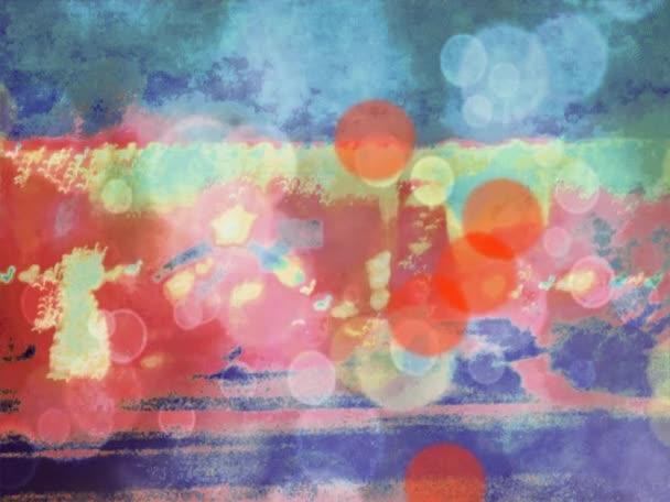 Az egyik absztrakt kép egy animált változata.