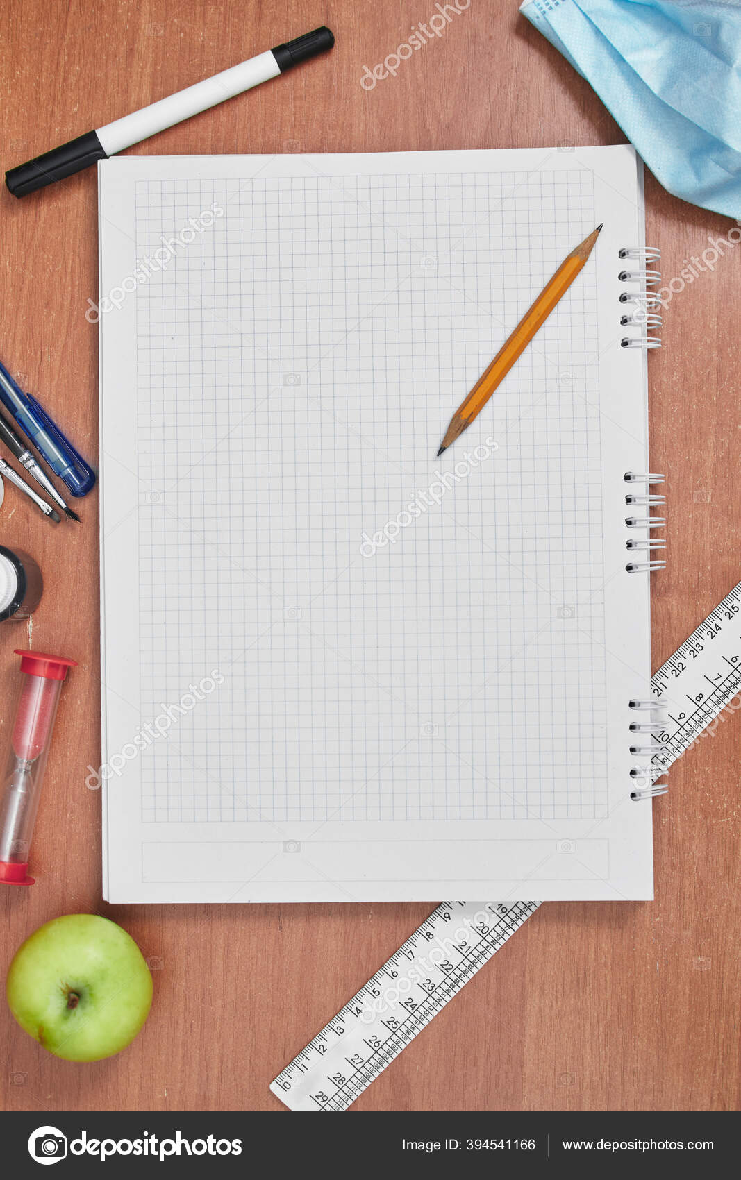 school still life pencil notebook stationery university college flat lay stock photo image by c duhaas 394541166