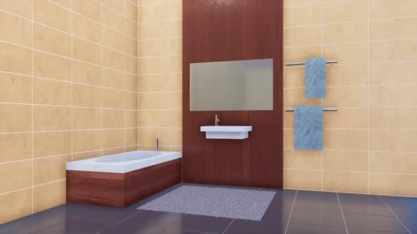 Vasca Da Bagno Semplice : Vasca bagno alla moda moderna specchio lavabo ceramica semplice