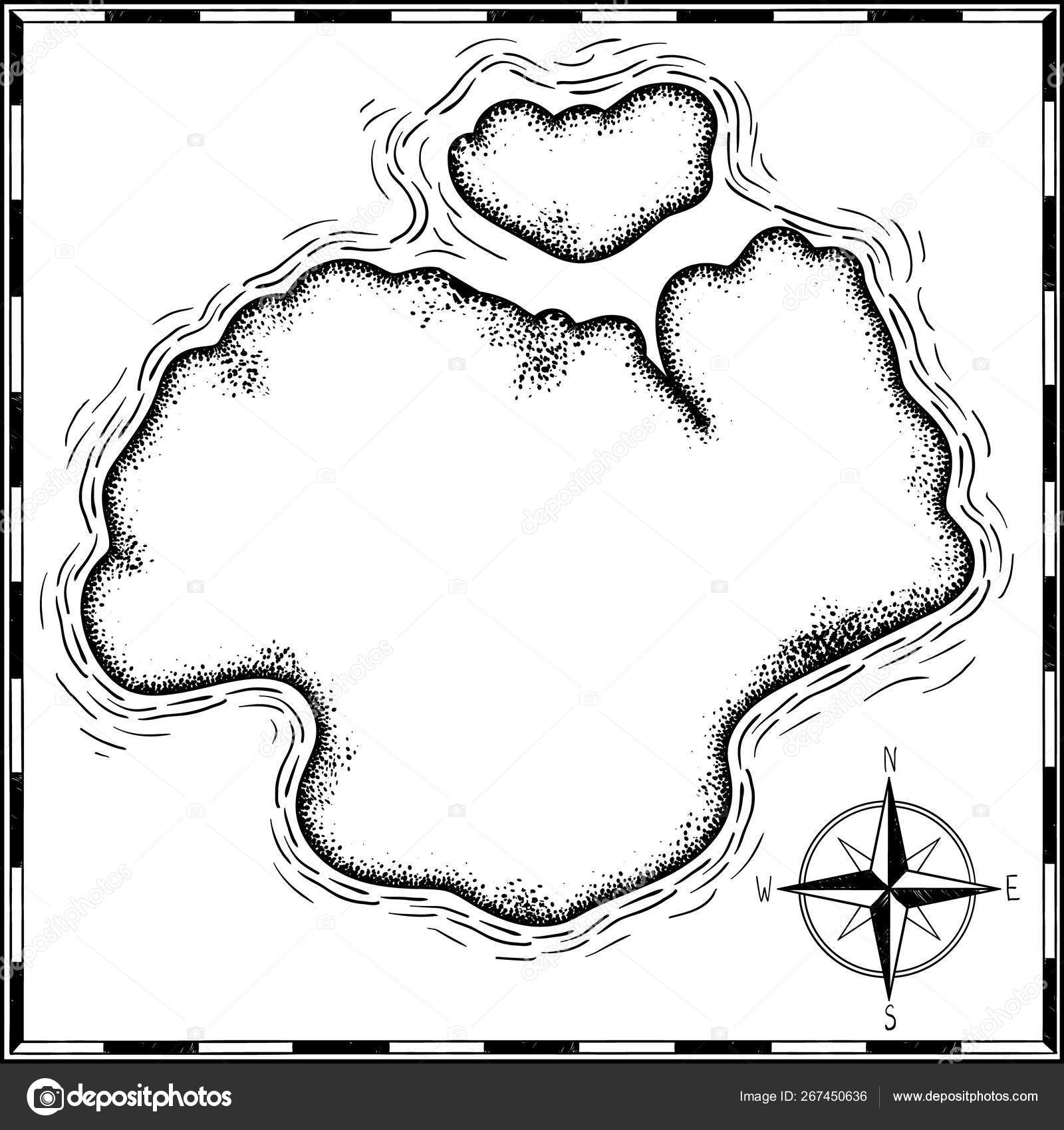 pirates treasure map hand drawn cartoon black ink isolated white stock vector c annaartbox 267450636 pirates treasure map hand drawn cartoon black ink isolated white stock vector c annaartbox 267450636