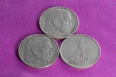 Silver coins of the Third Reich