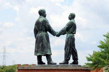 Memento Park, Socialist era sculptures, Budapest, Hungary
