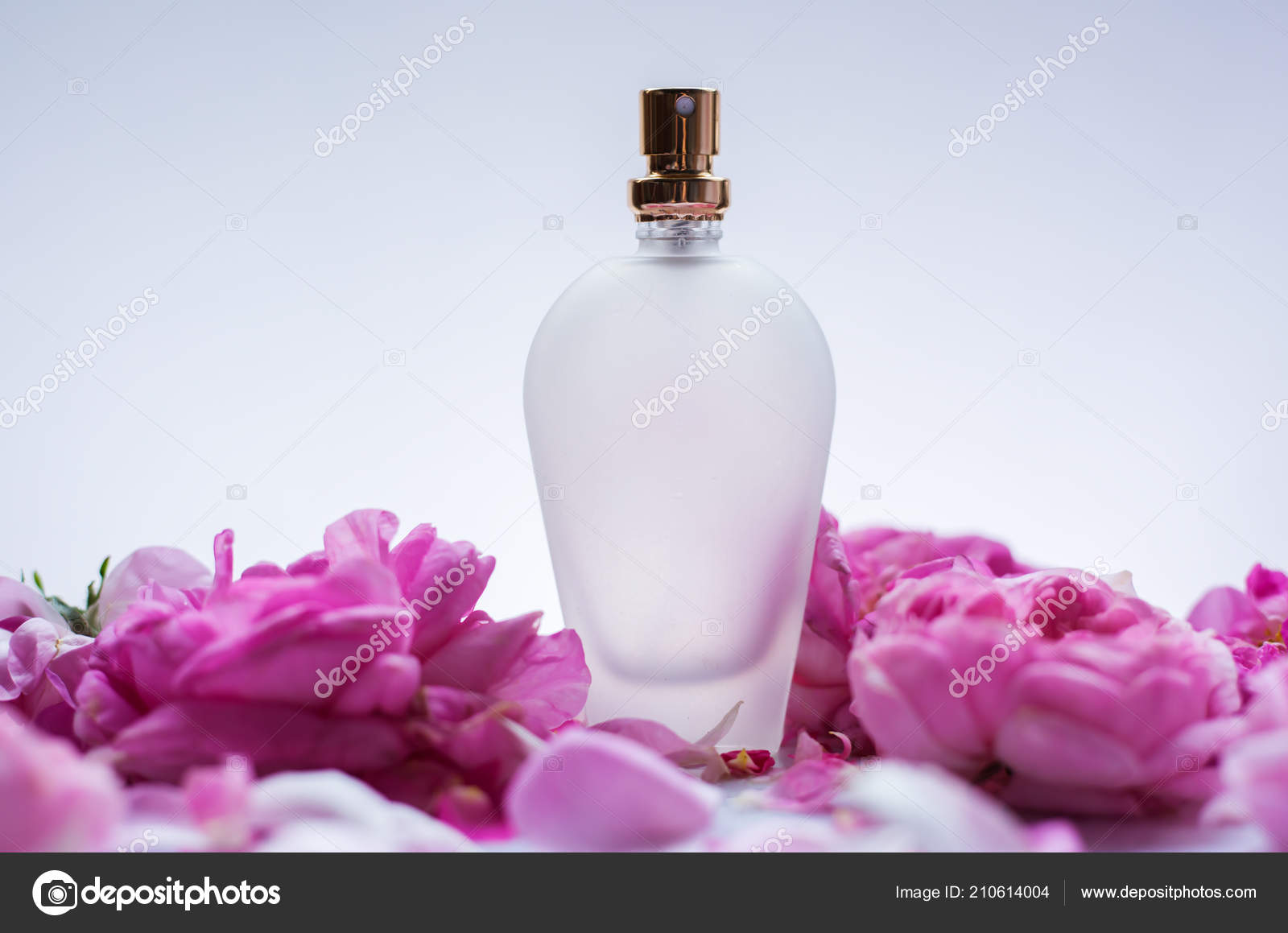 Perfume Pink Flowers Stock Photo Martyna1802 210614004