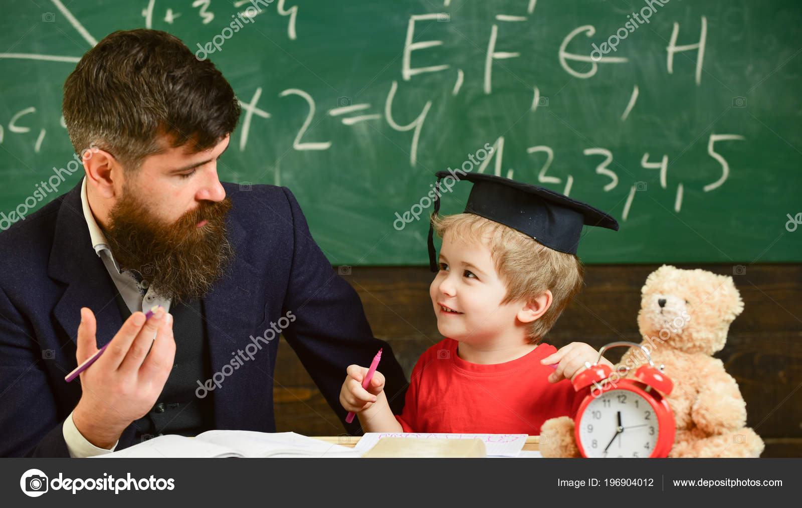 father and son lesson