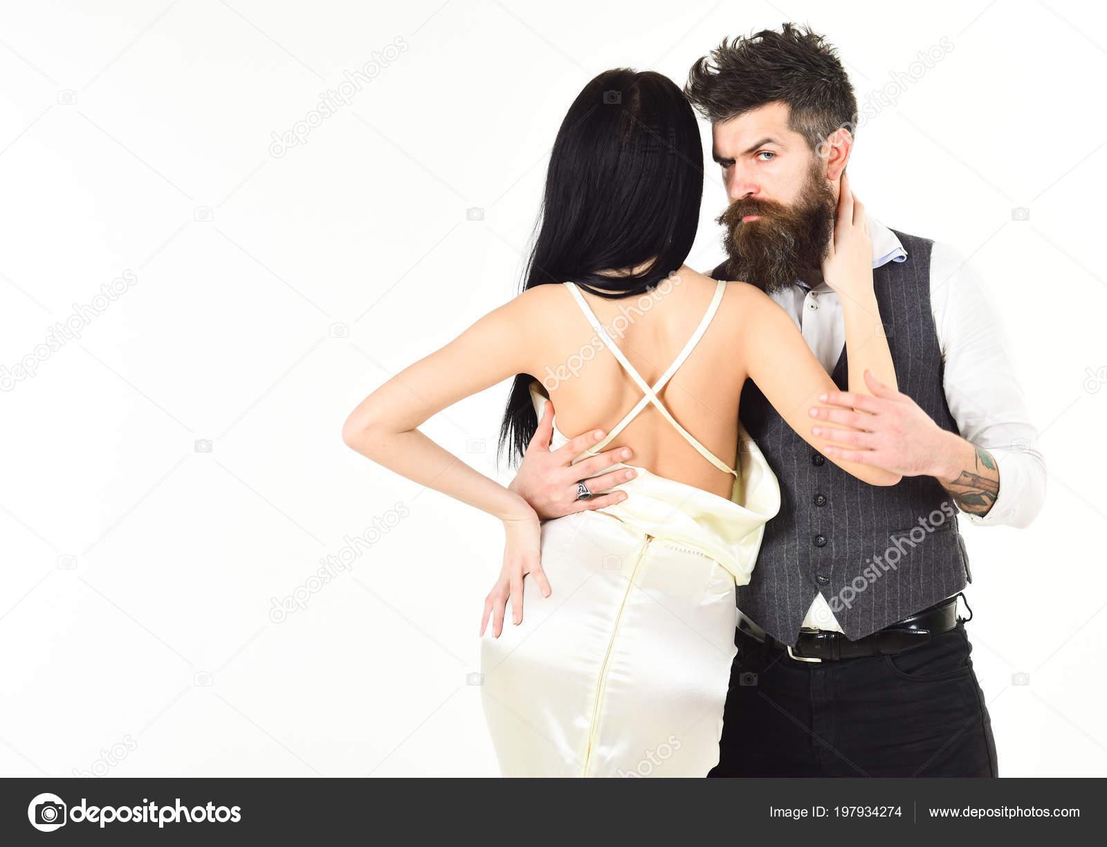 efc832fc2287 Hipster con signora vestita