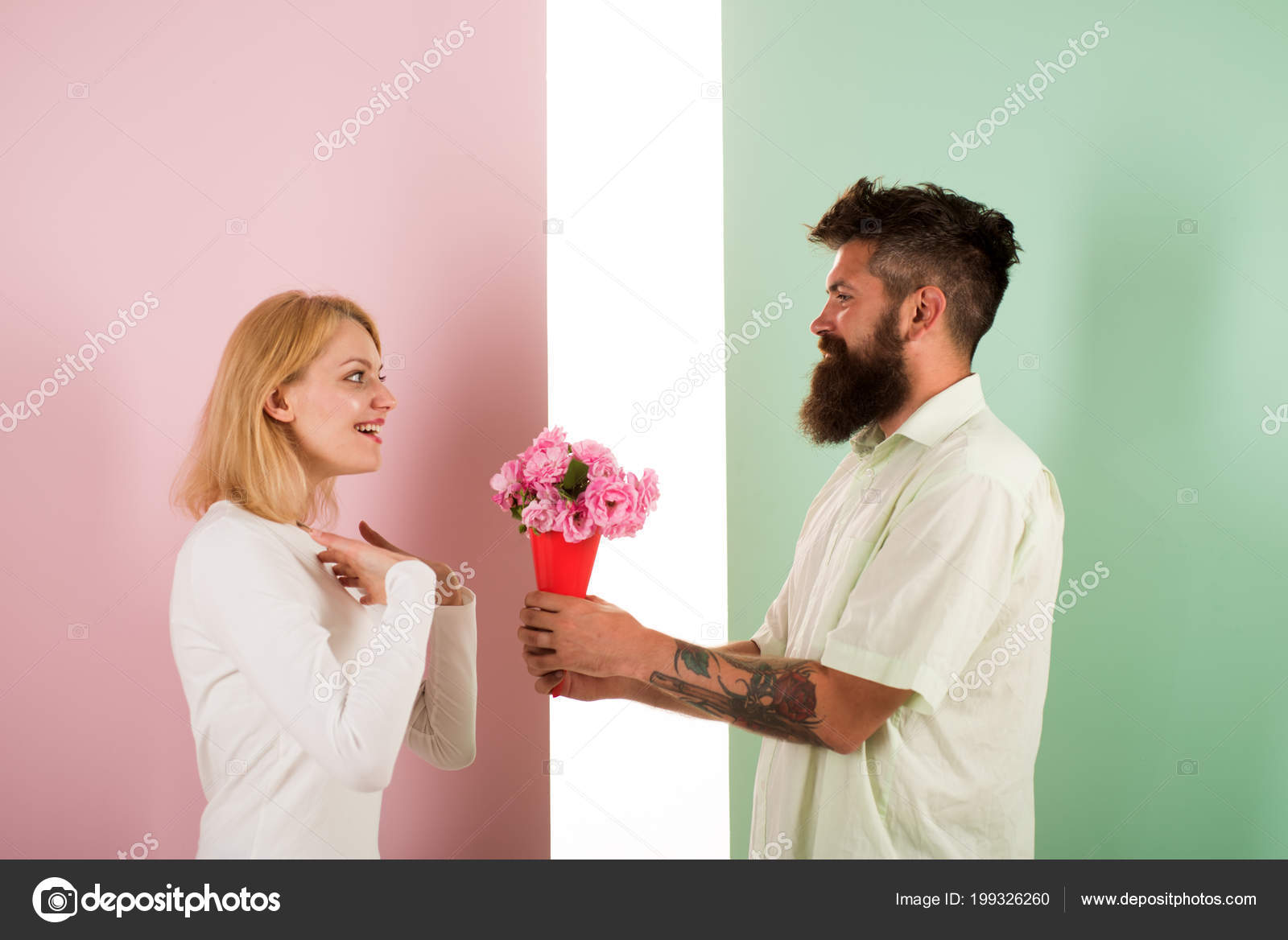 what kind of flowers to give a man