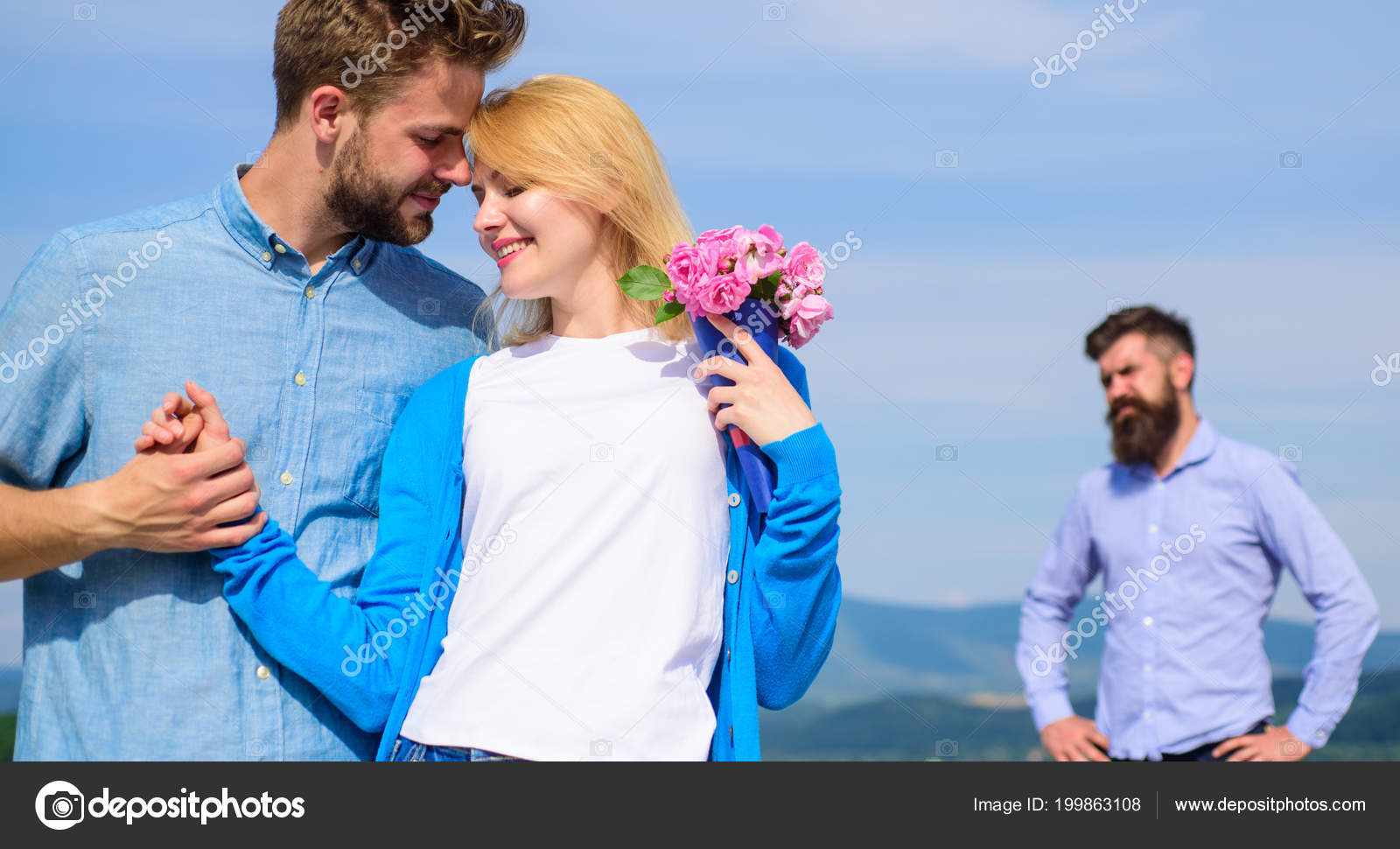 Ex Partner Watching Girl Starts Happy Love Relations New Love