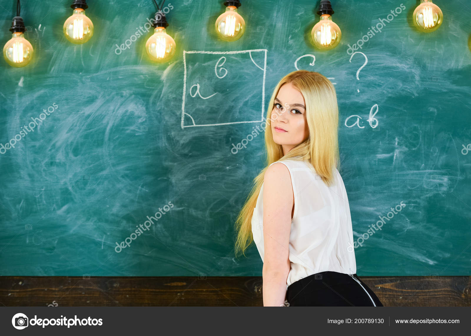 Teacher sexy back