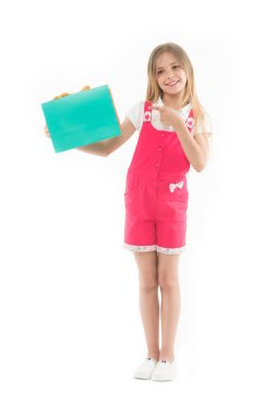 Get smart with coupons. Girl cute teenager carries shopping bag. Kid bought clothing summer sale. Loyalty program benefits. Loyalty programs remain extremely popular with consumers. Shopping discount