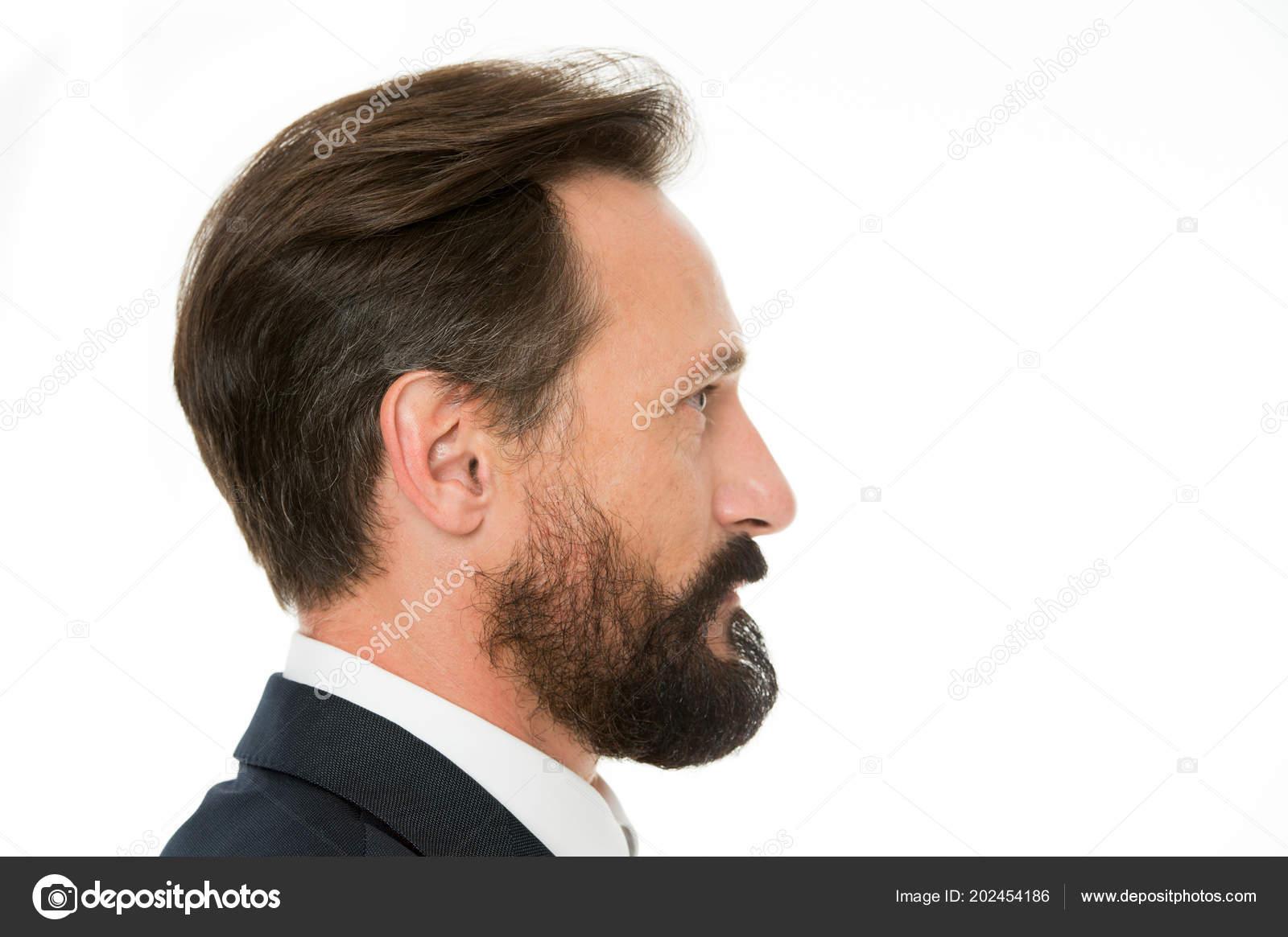 Perfekter Stil Business Mann Gepflegt Auch Altere Kerl Seite