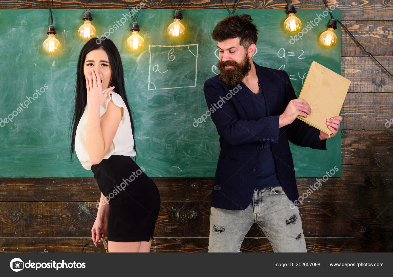 Tiener heeft seks met leraar