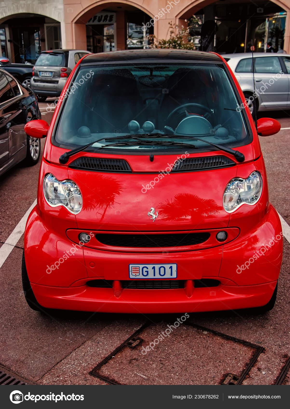 Red Ferrari Smart Car Stock Editorial Photo Stetsik 230678262
