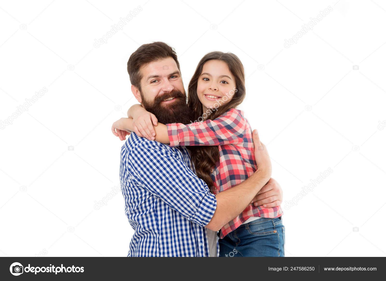 Vater tochter liebt ihren Tochter ihren