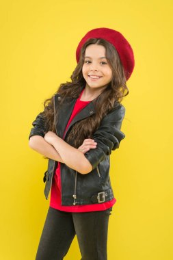 Talent contest. Brutal style tender girl. Rock style suits her. Rock and roll is way of life. Outfit ideas every stylish girl should try. Girl curly hair wear leather jacket. Little rock star concept