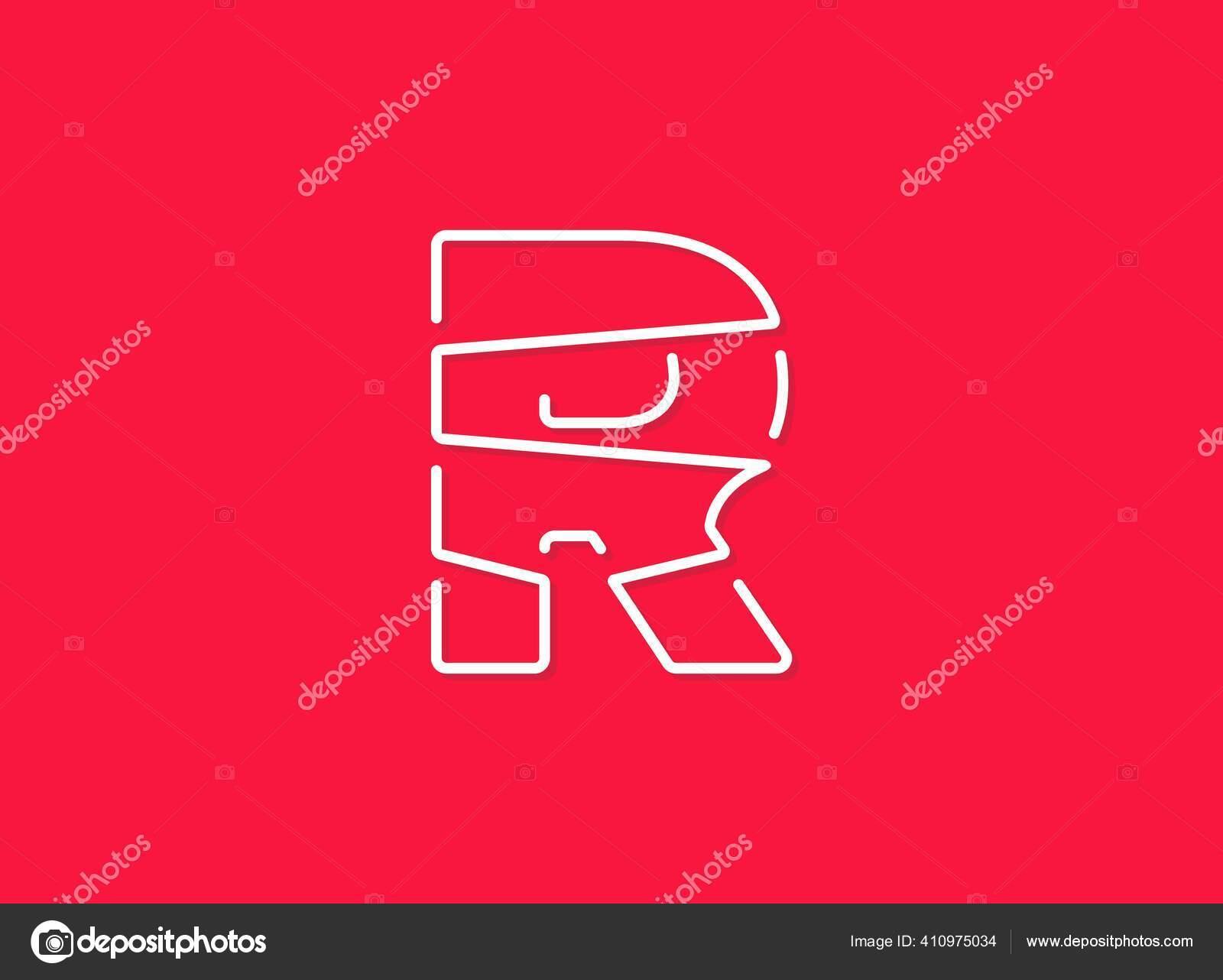 Huruf Modern Trendi Desing Garis Kontinu Font Yang Unik Ilustrasi Stok Vektor C Akpinaart 410975034