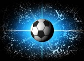 Football abstract  illustration for world championship 2018