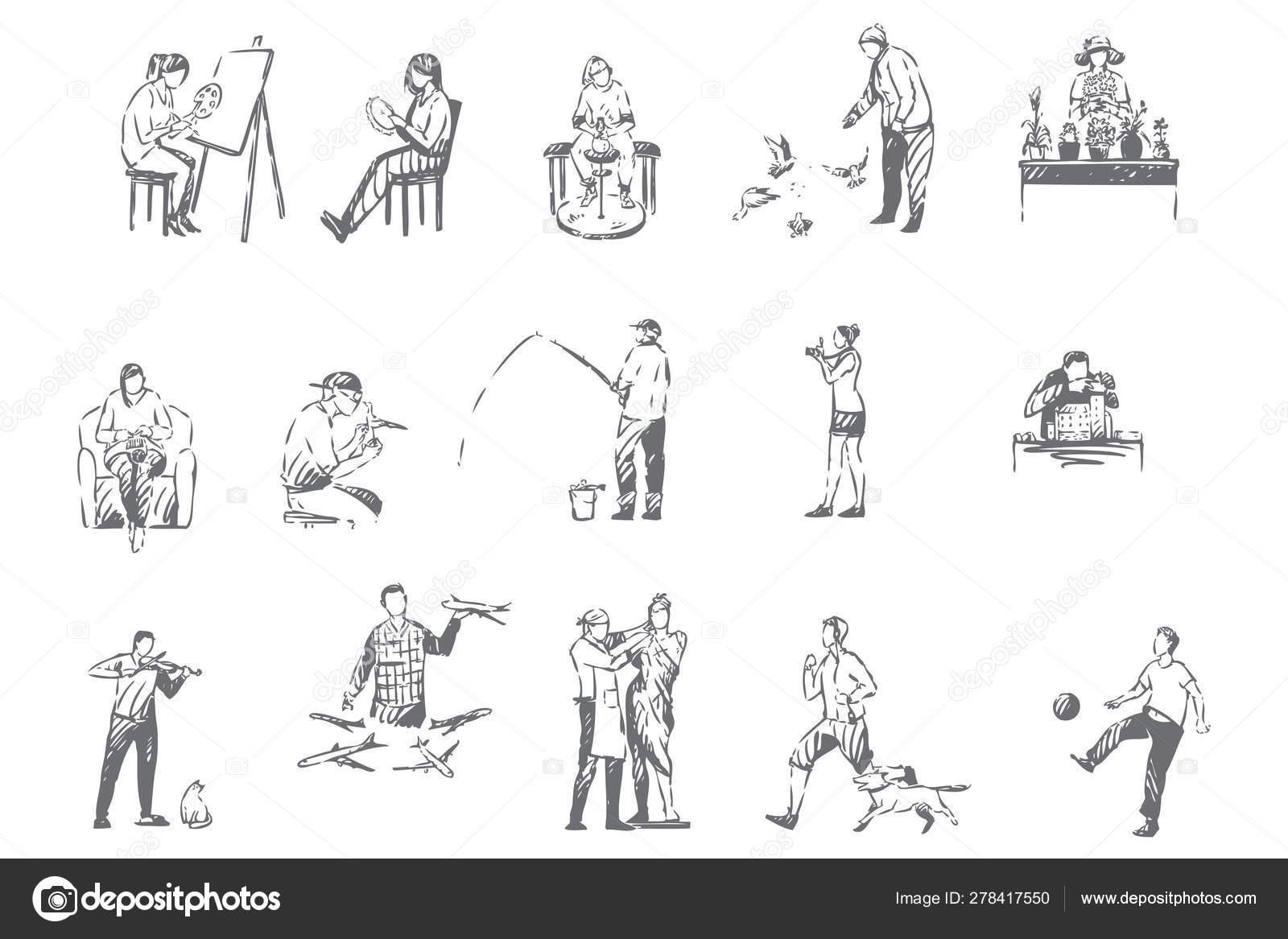 140,215 Hobbies Illustrations, Royalty-Free Vector Graphics & Clip Art -  iStock