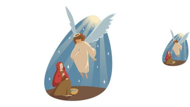 Annunciation, religion, bible, christianity concept