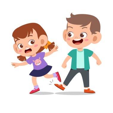 kid bully friend bad behaviour not good