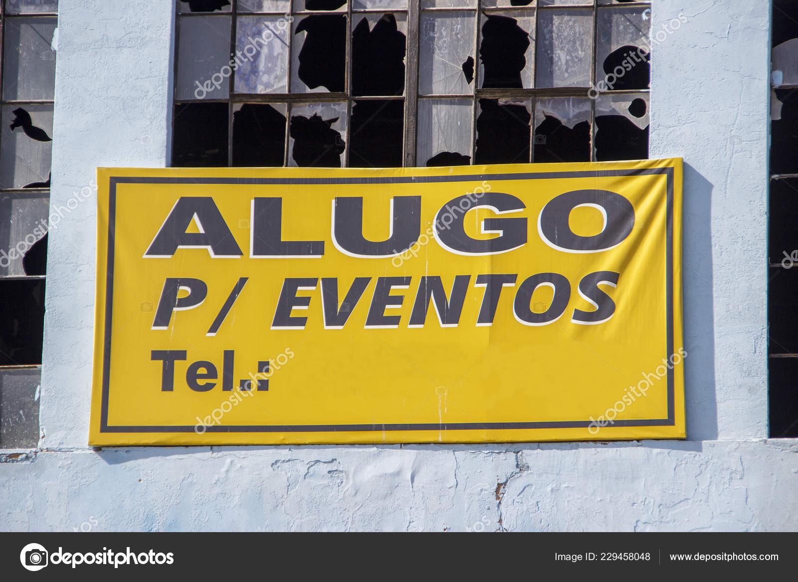 Tablas Información Brasileña Con Frase Alquiler Para Eventos