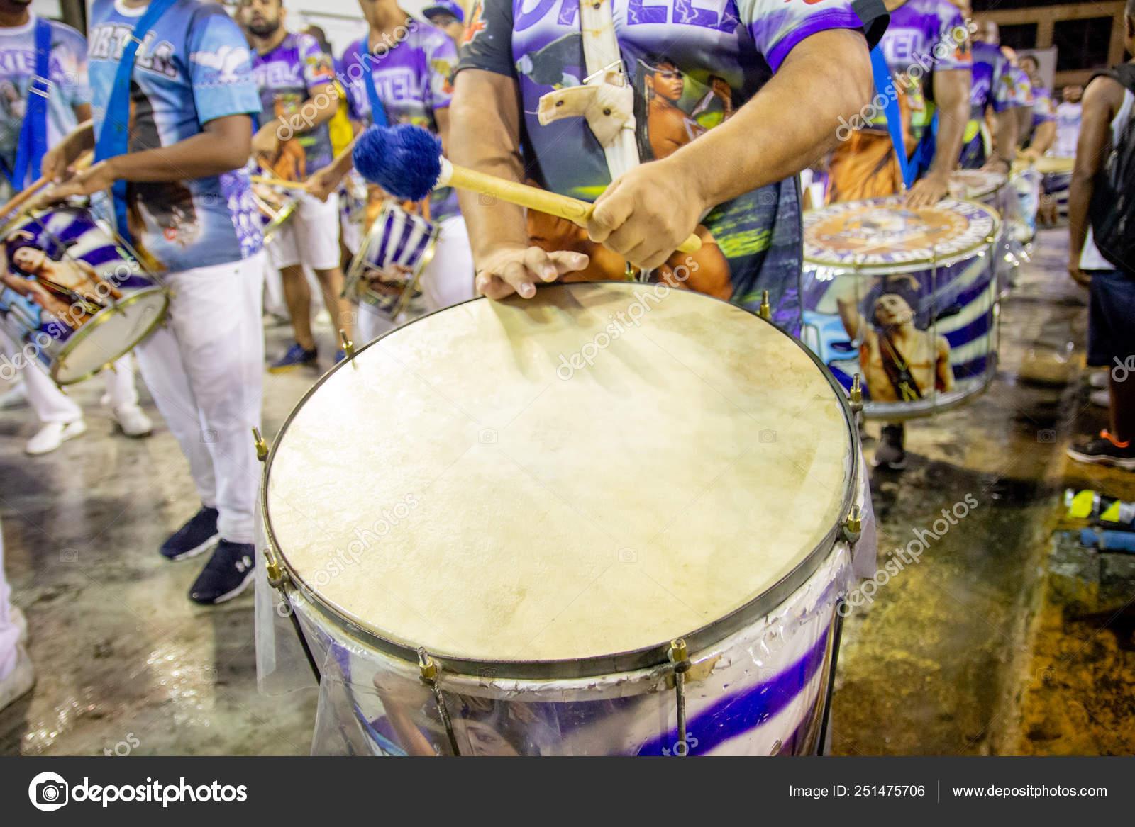 Drum of the Portela Samba School known as tabajara do sambai