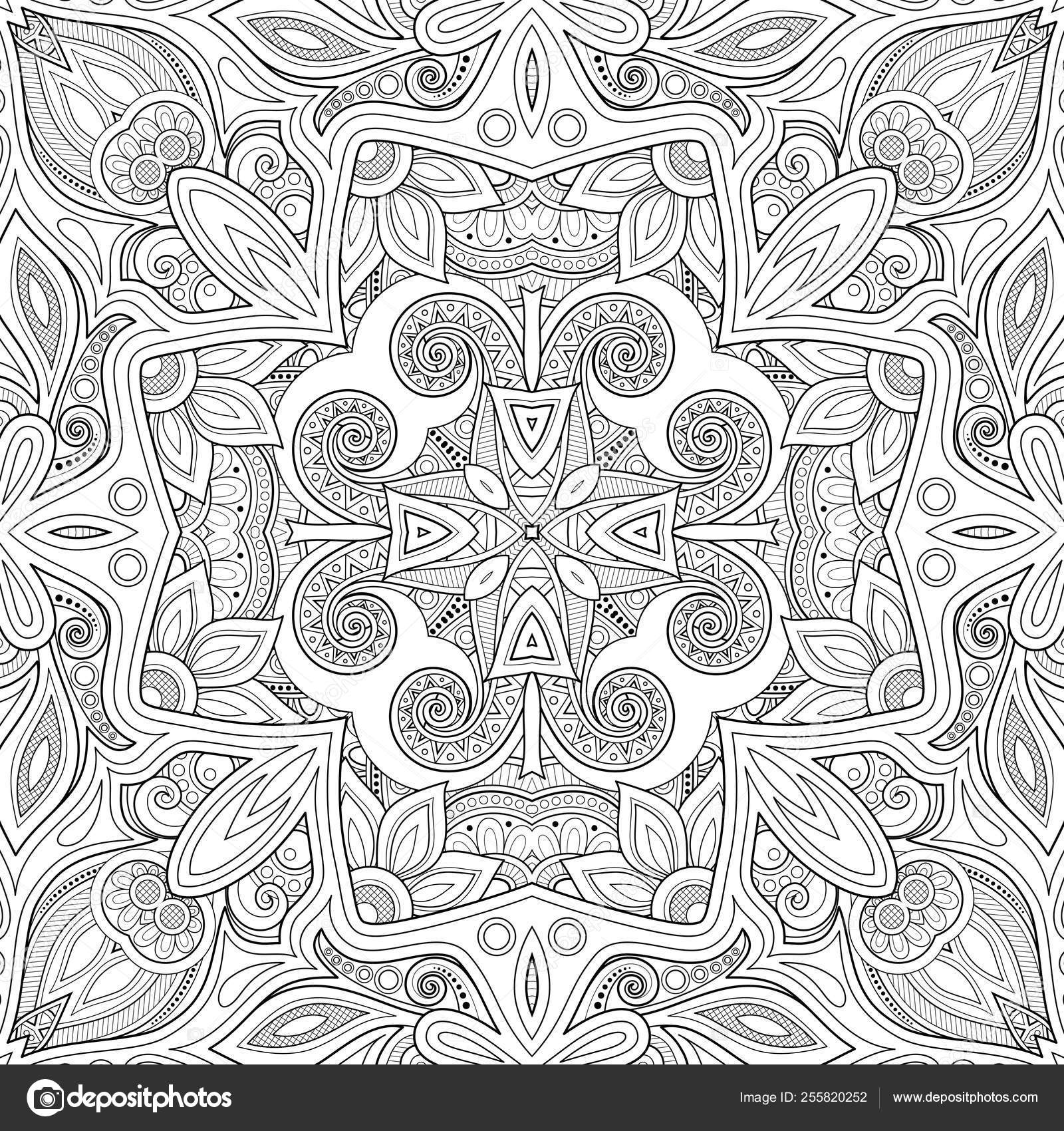 Mosaic Tiles Pattern coloring page | Free Printable Coloring Pages | 1700x1600