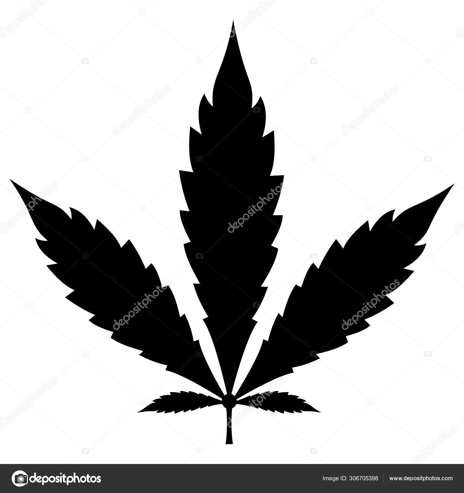 Marijuana Leaves Vector Illustration Stock Vector C Iconscout 306705398