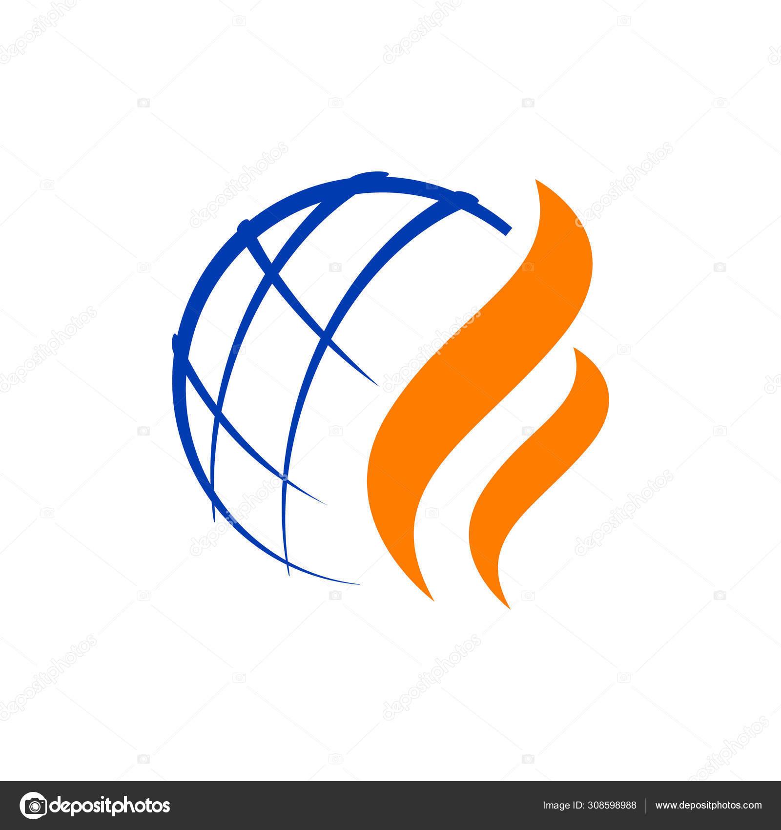 Modern Styled Nature Oil Gas Logo Design Vector Illustrations Stock Vector C Freaktor 308598988
