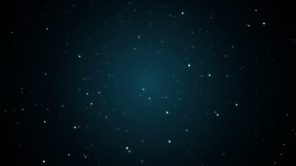 Star, csillagos sötét blur univerzum jelet ad grafikus animáció háttér 4k