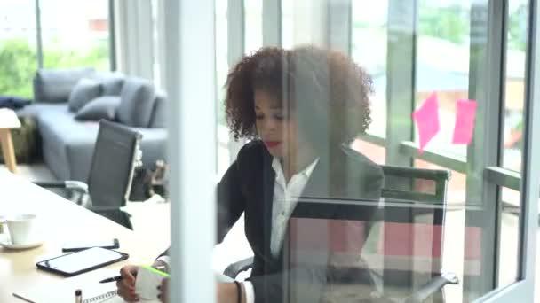 Multiethnic profressional coworker discuss marketing plan