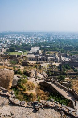 view of ancient architecture of India, traveling by Asia