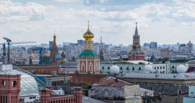 traveling by Moscow city sightseeing, Russia