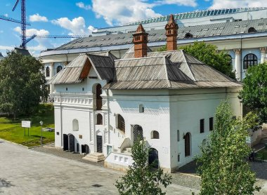 sightseeing of Moscow city architecture, travel concept