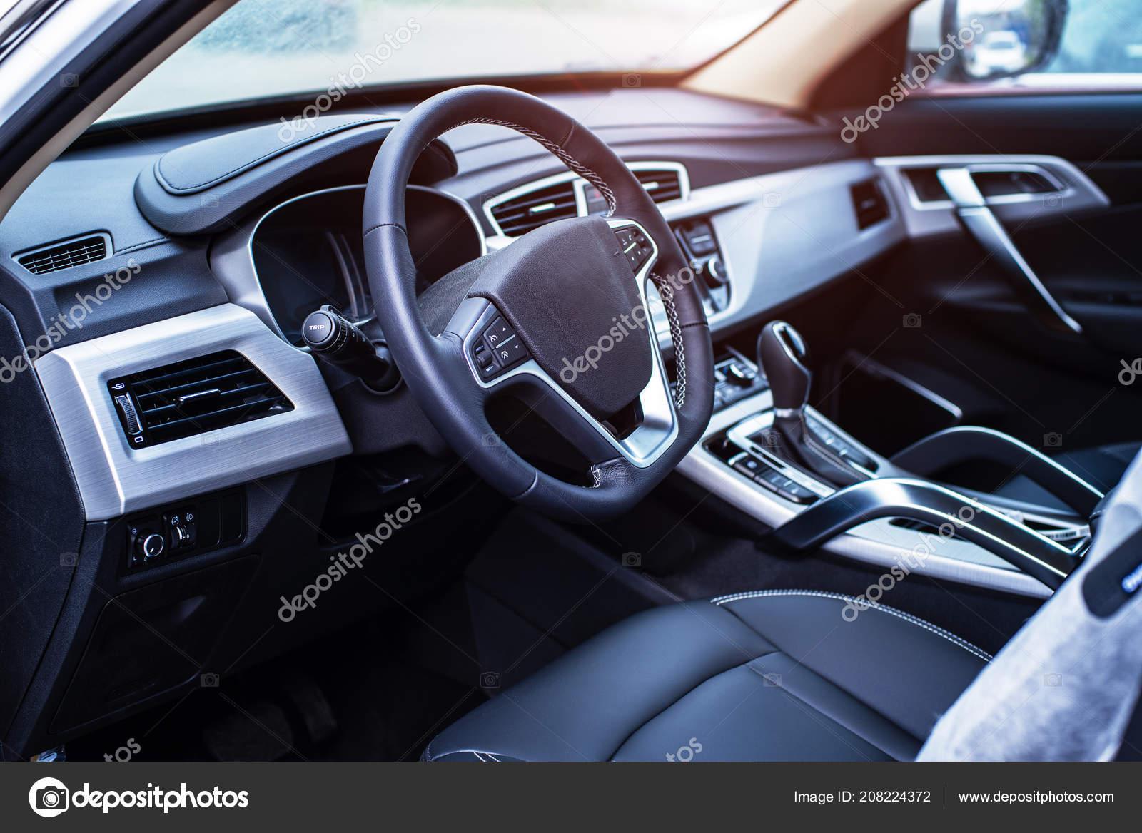 2720e51aed εσωτερικό αυτοκινήτου με ρηχό βάθος πεδίου — Φωτογραφία Αρχείου ...