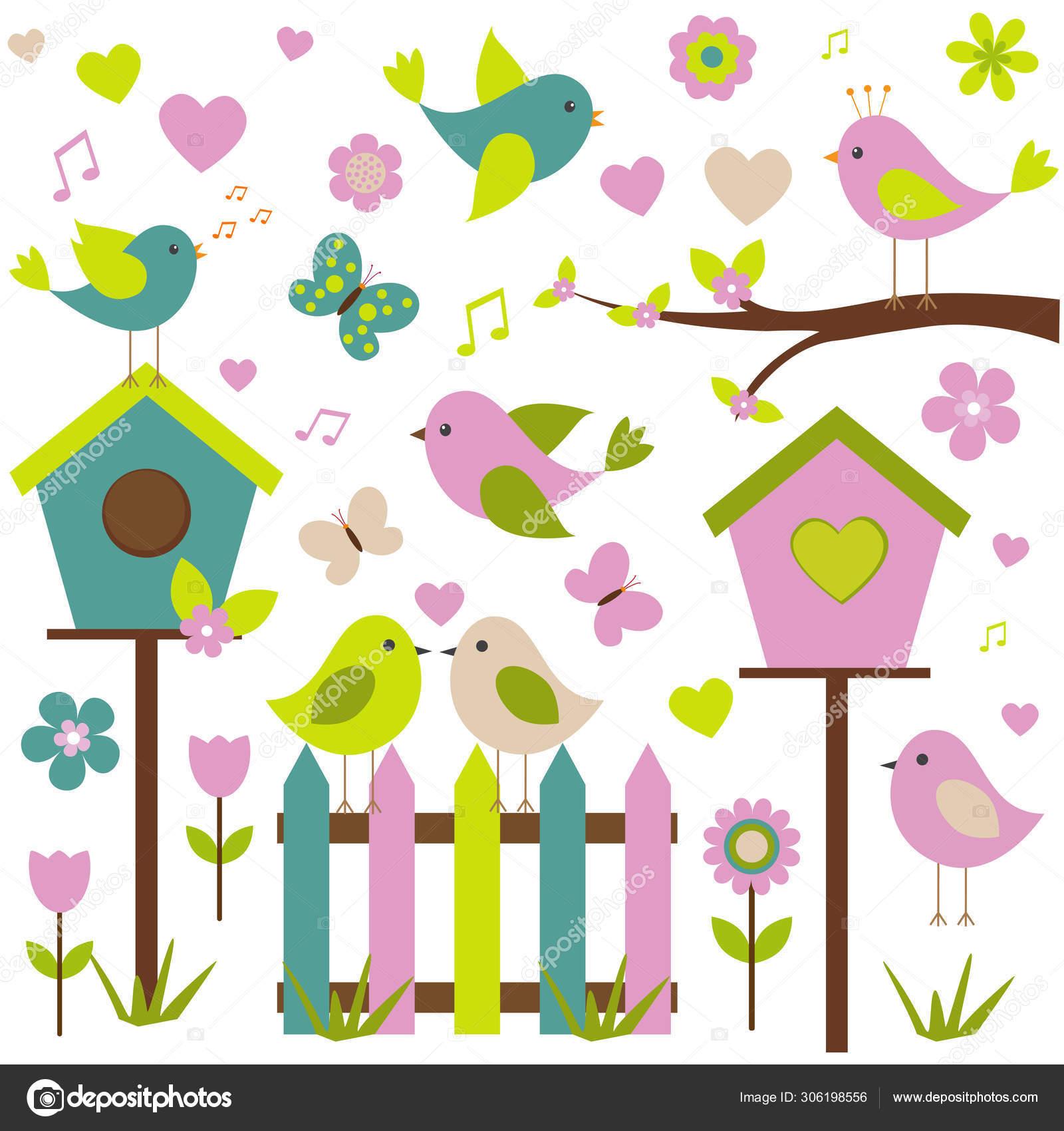волоски весенние птицы картинки в векторе нашем секс-шопе