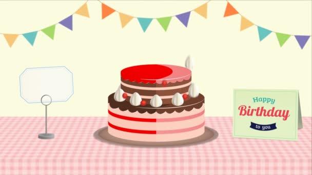 Boldog szülinapot! Animált boldog születésnapot köszöntés