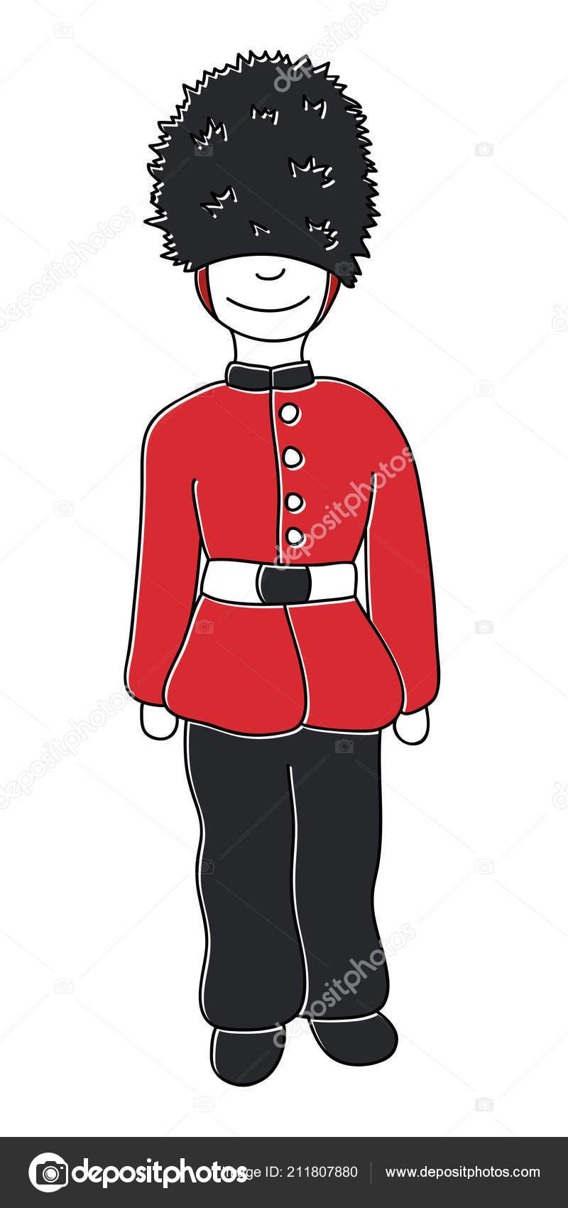 Avant Garde Royal London Vecteur Dessin Main Attractions