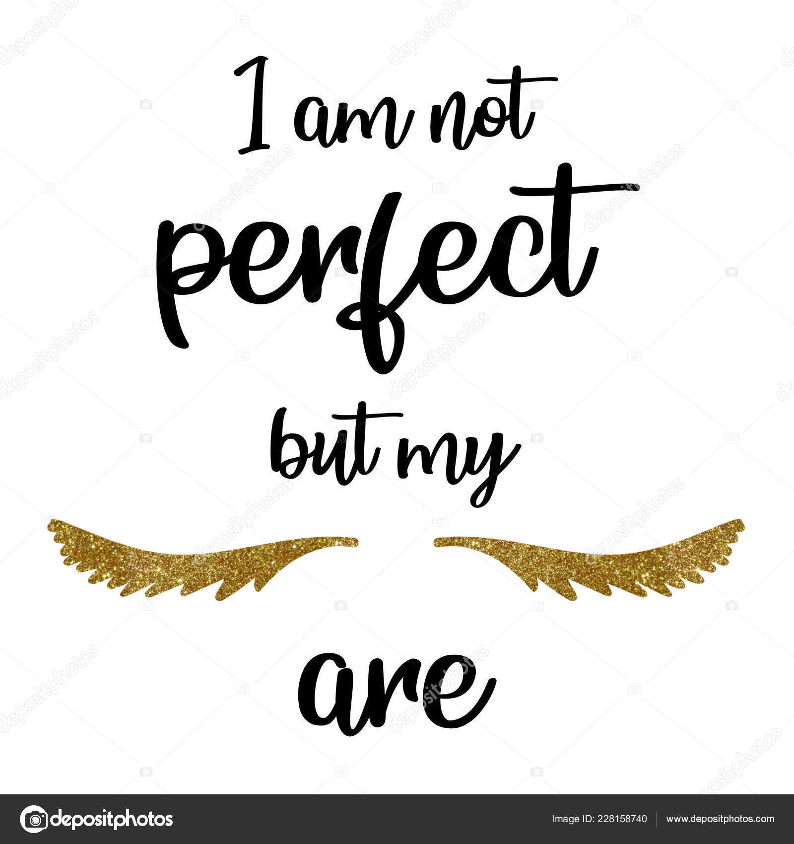Calligraphy Phrase Lash Makers Lashes Quote Calligraphy