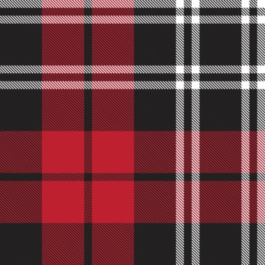 ed Plaid, checkered, tartan seamless pattern suitable for fashion textiles and graphics
