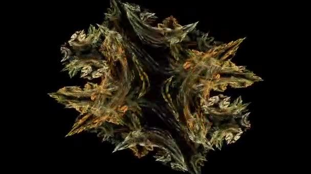 Orlament De Flores En Movimiento Vídeo De Stock Korfotokor