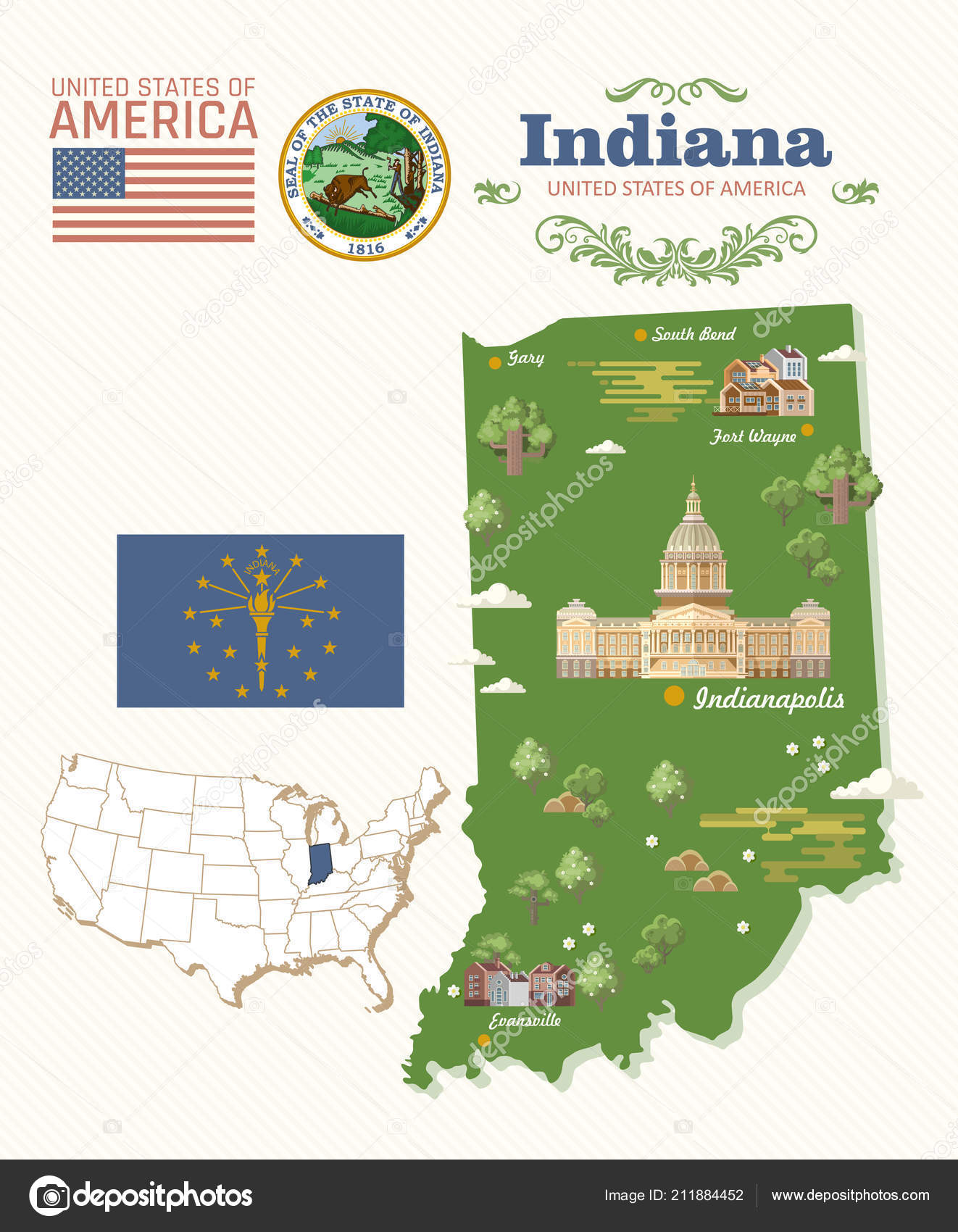 Indiana State Travel Map on florida travel map, iowa travel map, tennessee travel map, cincinnati travel map, nebraska travel map, oklahoma travel map, ohio travel map, nevada travel map, indiana map with capital, virginia travel map, colorado travel map, idaho travel map, indiana state weather, kentucky travel map, utah travel map, indiana state information, mississippi travel map, wisconsin travel map, indiana state history, wyoming travel map,