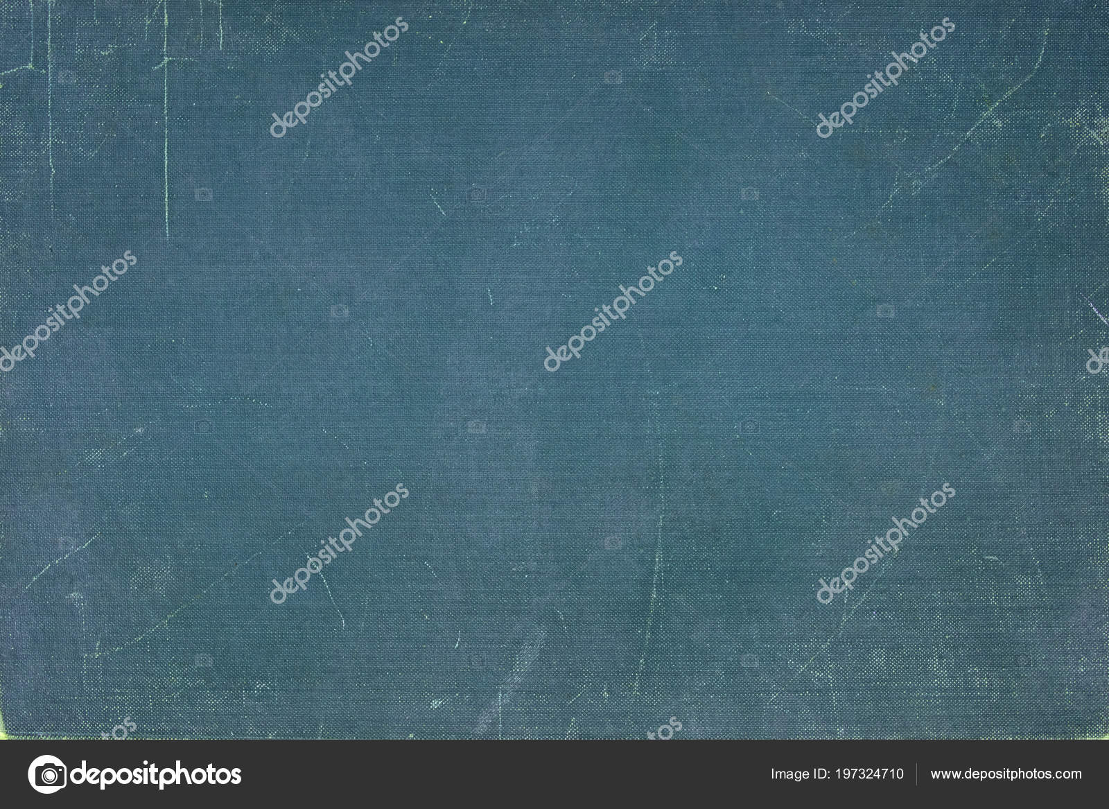 Vintage Blue Book Cover Canvas Texture Use Background — Stock Photo ...