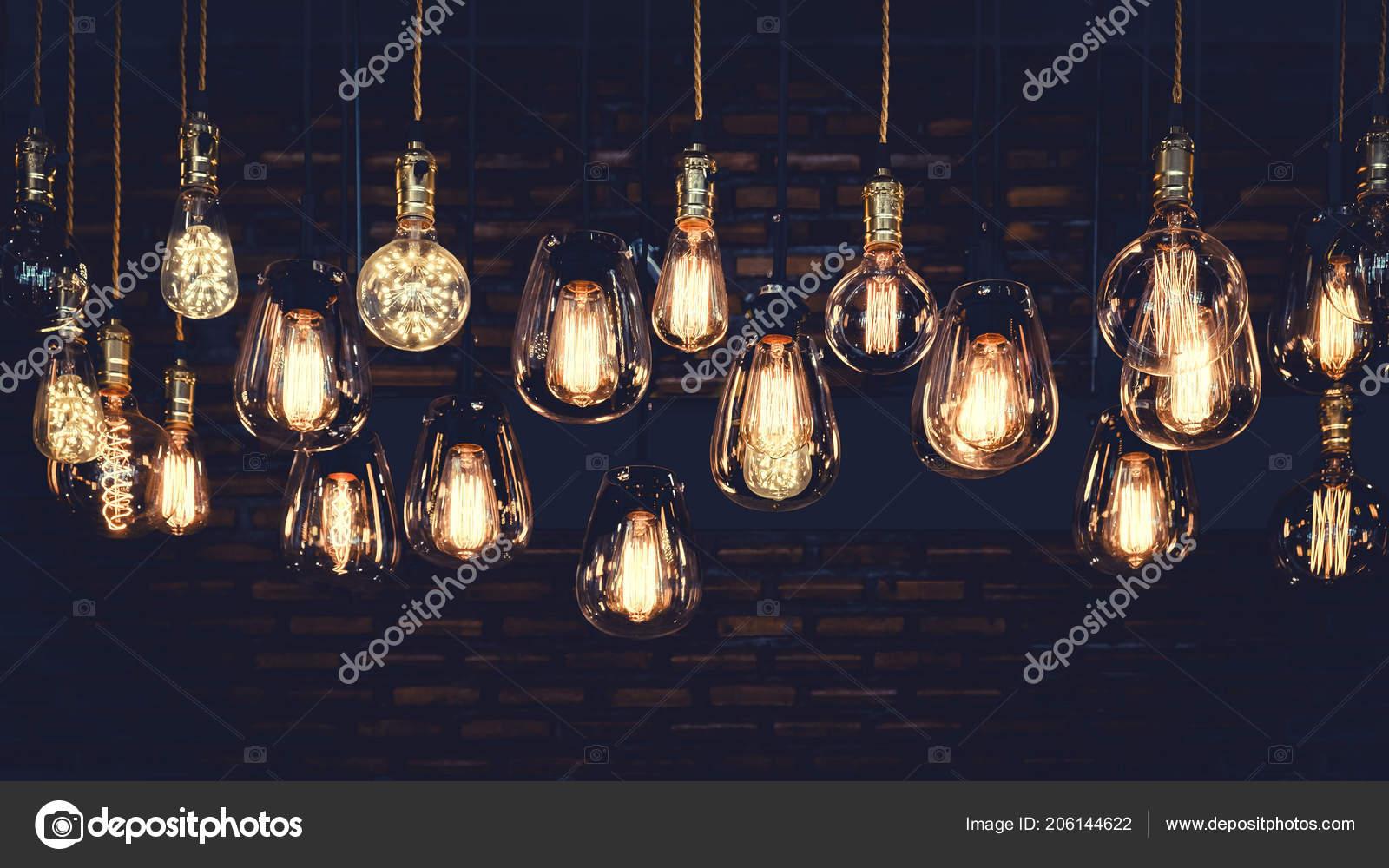Schone Vintage Luxus Gluhbirne Hangen Dekor Die Dunkeln Leuchten