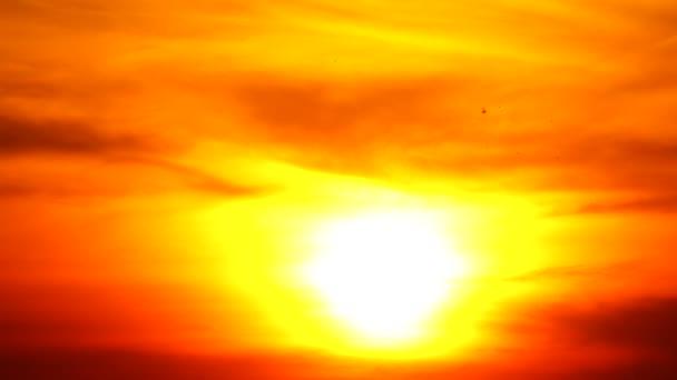 4 k Sunset ég narancs narancssárga ég nyári szabadtéri természet napkelte ezüst bélés és a narancs égen a felhő
