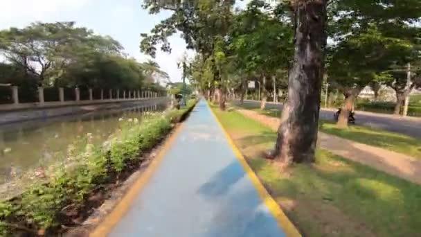 4 k Bike lane-ben a városi sport