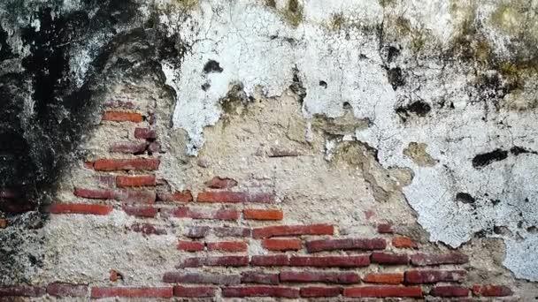4k Grungy sfondo urbano di un vecchio mattone più di 150 anni grungy texture grigio texture trama parete di cemento grigio modelli vintage backgound
