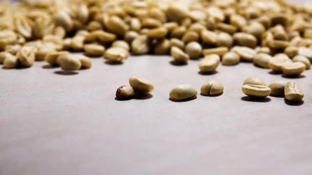 hd 1080p super langsam organische trockene Kaffeebohnen Espresso natürliche Lebensmittel und Getränke