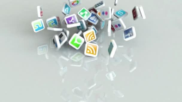 Közösségi média ikon segíthet a reális és lenyűgöző megjelenése.
